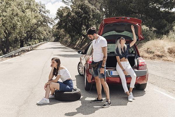 Accidentes de tráfico durante las vacaciones